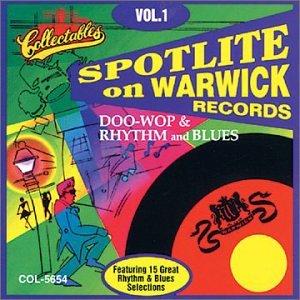 CD : VARIOUS ARTISTS - Warwick Records: Doo Wop Rhythm And Blues, Vol.1 (CD)