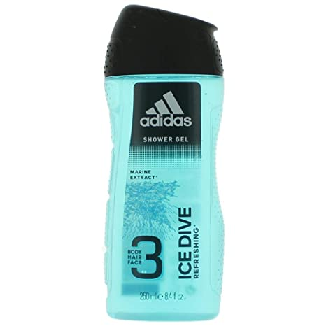117e3606b Adidas Ice Dive 3 In 1 Body, Hair And Face Shower Gel For Men, 250ml