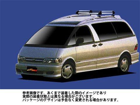 ルーフキャリア HR42 エスティマ / CXR10G CXR20G タフレック TUFREQ 精興工業 B06XZWTN8F
