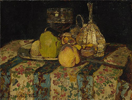 The Polyster Canvas Of Oil Painting 'Adolphe Monticelli Still Life Fruit ' ,size: 12 X 16 Inch / 30 X 40 Cm ,this High Definition Art Decorative Canvas Prints Is (Dracula Pocket Princess Costumes)