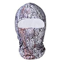 Hisea Balaclava Full Face Mask - Tactical Hood Motorcycle Ski Mask Lightweight Quick Dry for Cycling, Riding, Training, Snowboard, Motorcycle