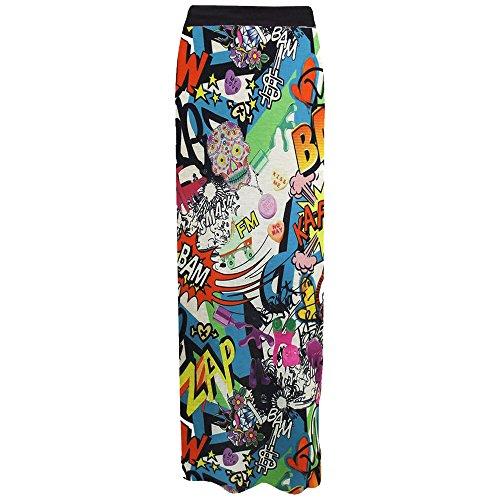 Fashion Valley - Vestido - Estuche - Básico - para mujer Bang Print