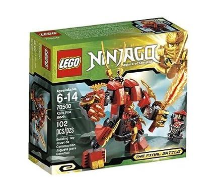 Amazon.com: Juego/Jugar Lego Ninjago kais Fire Mech 70500 ...