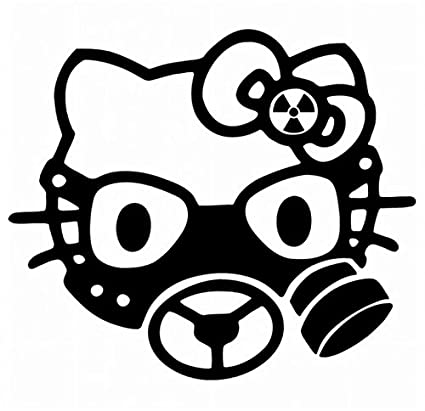 9ac94d458 Image Unavailable. Image not available for. Color: Hello Kitty Gas Mask ...
