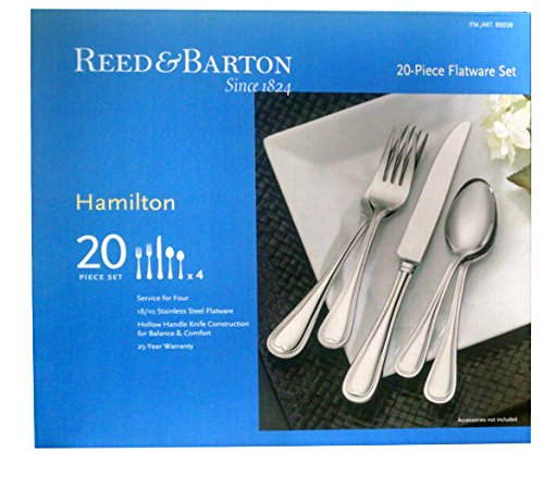 Reed and Barton Hamilton 18/10 Stainless - Reed Barton Silverware Shopping Results