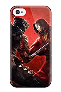 Best 4730464K51980454 Tpu Case Cover For Iphone 4/4s Strong Protect Case - Ninja Gaiden 3 Game Design