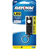 Rayovac Value Bright 6 Lumen 2 CR1220 LED Keychain Light with Batteries (BRSLEDKEY-BR)