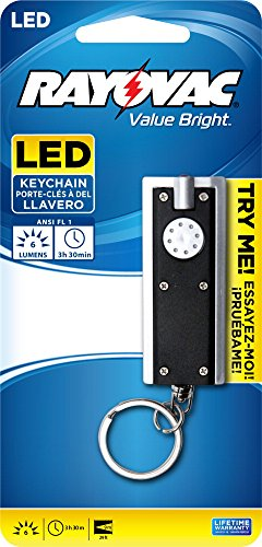 Rayovac Bright Keychain Batteries BRSLEDKEY BR