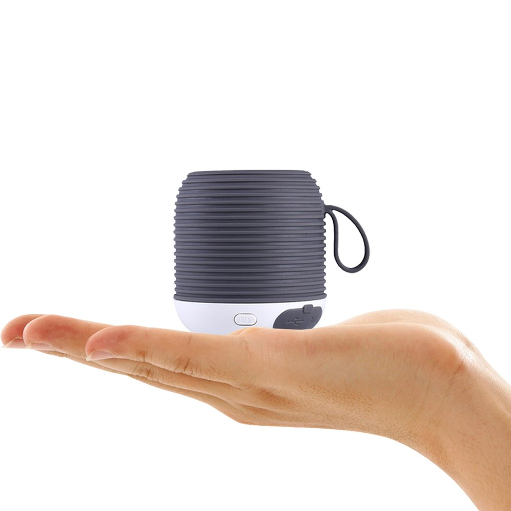 Ultra-Portable Small Bluetooth Speaker Waterproof, 10-Hour..