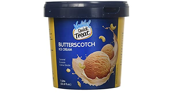 Vadilal Butterscotch Ice Cream 1 Liter Ltr Amazon Com Grocery