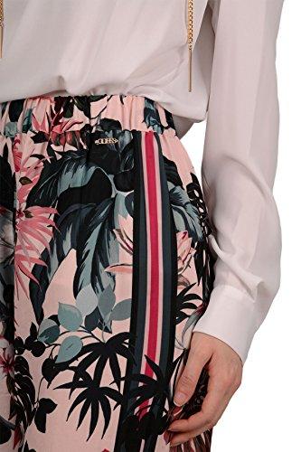 Ernestine Pants Guess Palazzo Pink Flowers waxU6WvYq