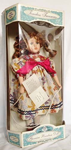 Lu Ann Fine Bisque Porcelain Doll with Jump Rope & Stand Special Edition with COA (15