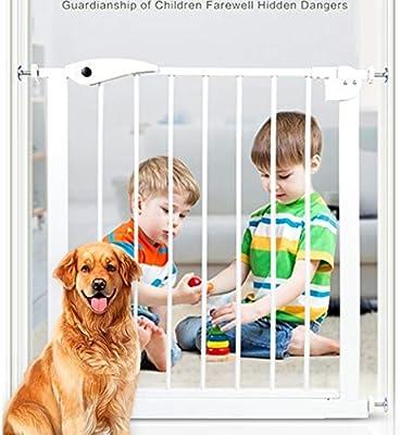 YONGYONG-Guardrail Barreras de Puerta Puerta de jardín Infantil Seguridad Infantil Bar Bar Escalera de bebé barandilla Valla para Mascotas Valla para Perros Poste de Aislamiento Puerta: Amazon.es: Hogar