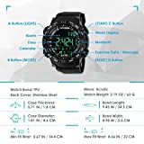 Aposon Mens Watch Smart Sport Wristwatch Bluetooth
