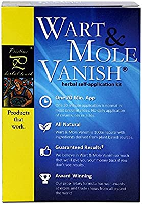 Wart & Mole Vanish - Kit Para Eliminar Verrugas Y Lunares ...