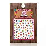Piggy Paint Nail Art Sticker Accessories for Girls Fingernails - Sweetie