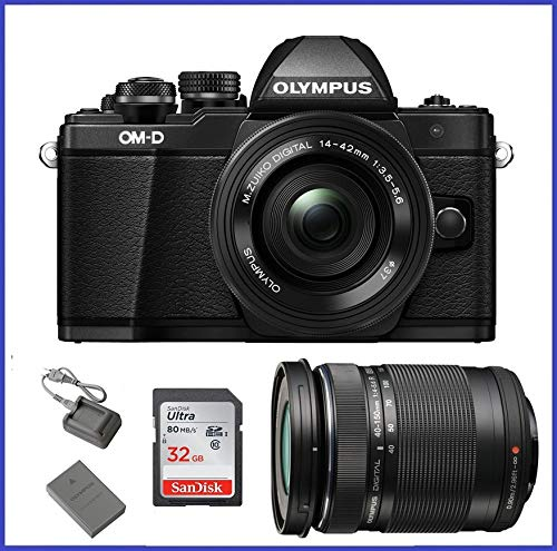 Olympus OM-D E-M10 Mark II Mirrorless Camera w/ 14-42mm EZ & 40-150 F4.0-5.6R Bk Review