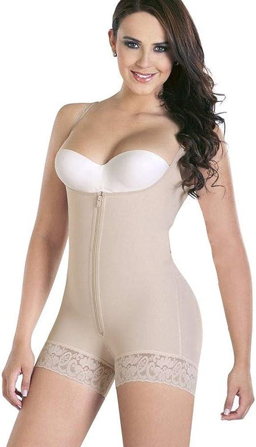 AICONL Womens Tummy Control Shapewear Full Bodysuit with Bra Seamless Body Shaper