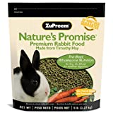 Zupreem Nature's Promise Timothy Naturals Premium Daily Adult Rabbit Food 5 LB, My Pet Supplies