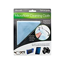 Bulk Buys Optical Grade Microfiber Cleaning Cloth Pack Of 24