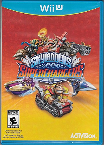 Skylanders Supcharger Game Replacement Disc (Wii U)