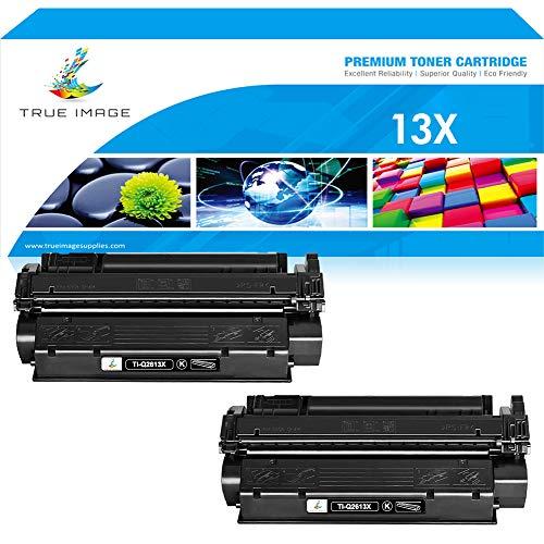 True Image Compatible Toner Cartridge Replacement for HP Q2613X 13X Q2613A C7115A C7115X 15X Toner HP Laserjet 1300 1300N HP Laserjet 3380 3300 3330 Laserjet 1150 1200 1200N 1220 Black Printer -2PK