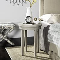 Safavieh American Homes Collection Kipp Brown End Table, Natural
