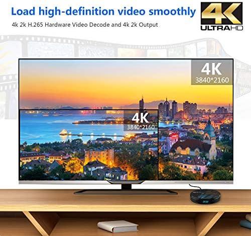 Android 9.0 TV Box【4G+64G】con Mini Teclado inalámbirco RK3328 ...