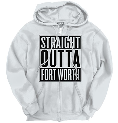 Classic Teaze Straight Outta Fort Worth, TX City Movie T Shirts Gift Ideas Zipper - Tx University Fort In Worth