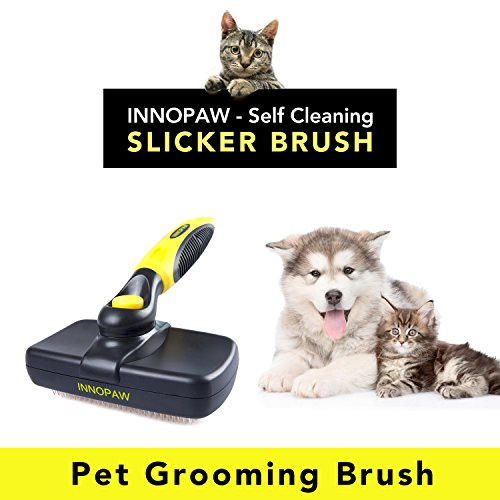 Dog Grooming Brush Self Cleaning Slicker Brushes Best Pet