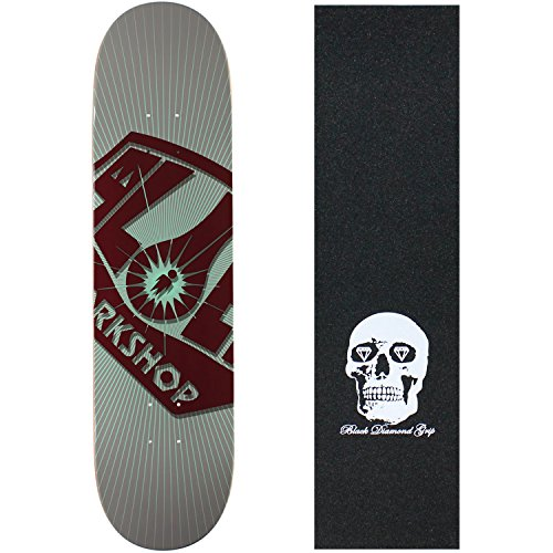 "UPC 742091181441, ALIEN WORKSHOP Skateboard Deck OG BURST LARGE 8.25"" Skull GRIP"