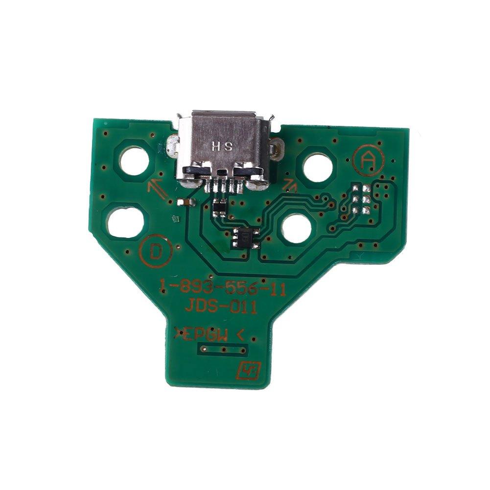 Cewaal Port USB de prise de charge USB JDS-011 12 broches fiable durable qualité supérieure tout neuf
