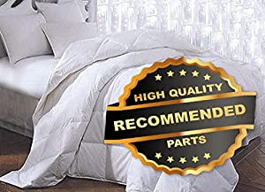 Ellyly Premium New 3-Piece Egyption Cotton White Goose Down Alternative Bed Comforter 899 3 Sizes | Style CMFTR-120219175 | King