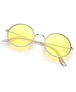 Phenomenal Round Sunglasses For women Yellow