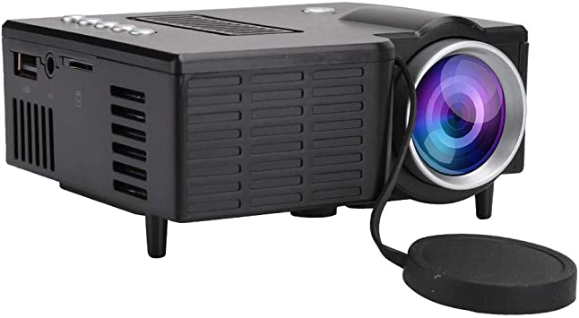 Opinión sobre Hakeeta Proyector portátil en Miniatura, Home HD 1080P Mini proyector portátil con enfriamiento silencioso.(Negro)