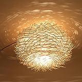 YanCui@ Modern Creative bedroom kitchen Bar restaurant corridor warehouse Bird's nest manual branch Ceiling Pendant light , 450