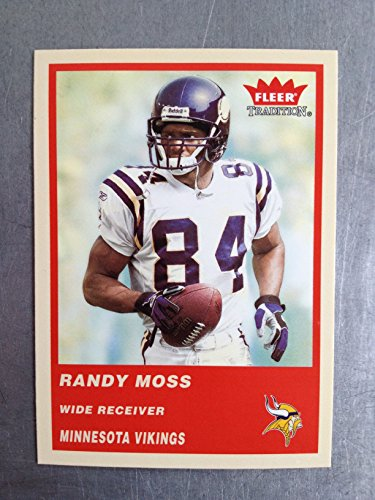 2004 Fleer Tradition Football 79 Randy Moss NM/M (Near Mint/Mint)