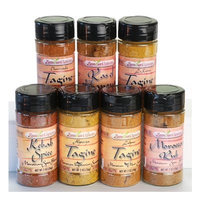 Moroccan Spices Chef - Set of 7