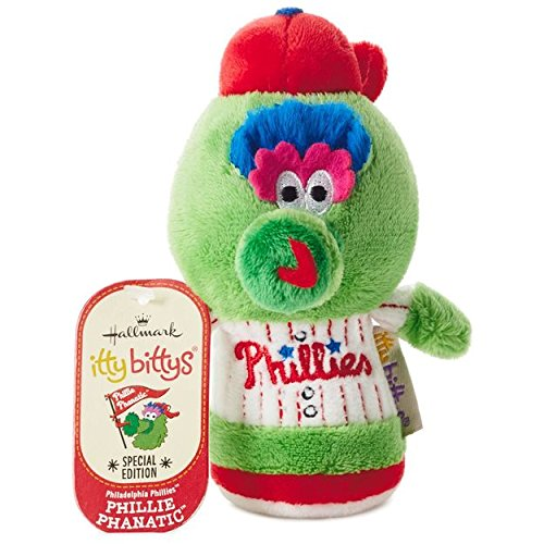 (Hallmark Itty Bittys Philadelphia Phillie Phanatic Special Edition Stuffed Animal)