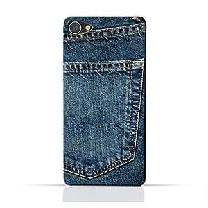 AMC Design Alcatel A5 LED TPU Silicone Protective Case with Jeans Pocket Design