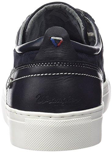 Blau Raul Blu Basse 16 Navy Wrangler Sneaker Uomo S7xqwIwfXd