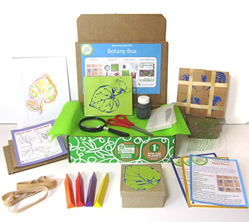 Green Kid Crafts, Botany Discovery Box