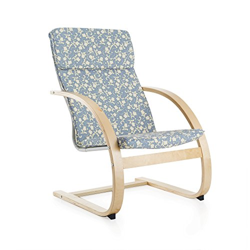 Guidecraft Teachers Rocker Patterned Chair - School, Living Room Furniture