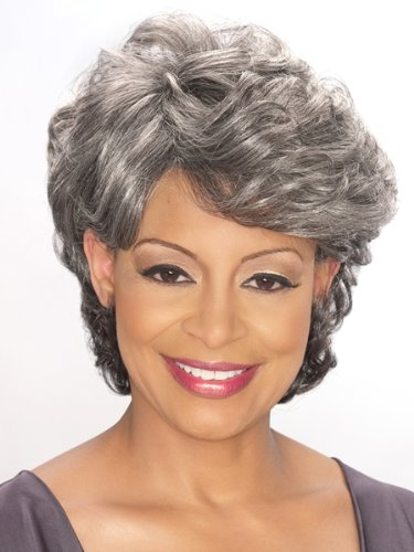 Foxy Silver Synthetic Wig - Emily-F2315 (Caucasian Wigs)