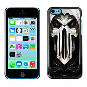 Shell-Star ( Cool Goth Skull Mask Scary ) Fundas Cover Cubre Hard Case Cover para Apple iPhone 5C