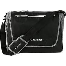 Columbia Solar Ridge Messenger, Baby Diaper Bag, Black/Grey