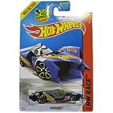 Hot Wheels 2014 Hw Race Team Blue Imparable Racing Car 149/250, Long Card by Mattel