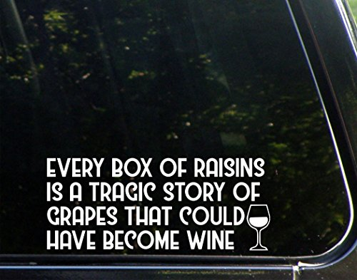 Every Box Of Raisens Is A Traggic Story Of Grapes That Could Have Become Wine (8-3/4