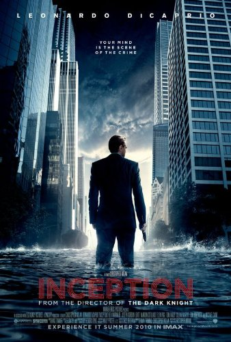 Click for larger image of Inception Ver A Movie Poster Double Sided Original 27x40
