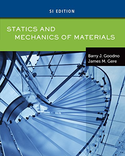Statics and Mechanics of Materials, SI Edition (Center Of Mass And Moment Of Inertia)